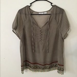 Women's Tribal Blouse